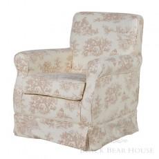 fotel toile de jouy