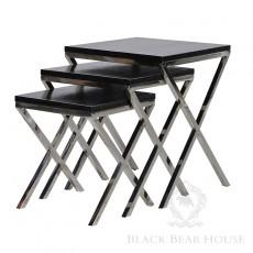 stoliki na aluminiowych nogach 2