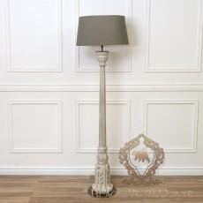 lampa stojąca w stylu FRANCUSKIM BLACK BEAR HOPUSE