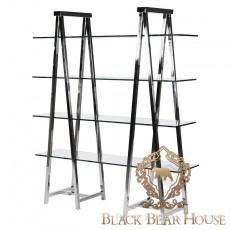 regał z aluminium black bear house