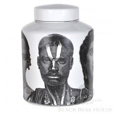 pojemnik z wizerunkiem twarzy black bear house
