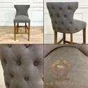 krzeso barowe pikowane szare black bear house.008