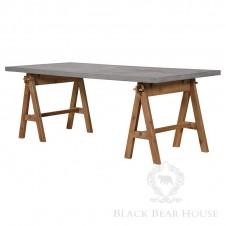 stół na kozłach black bear house