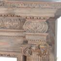 Drewniany kominek