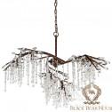 lampa żyrandol francuski modern classic black bear house.003