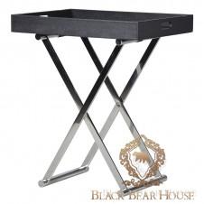 stolik w kształcie tacy