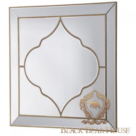 lustro z motywem marokańskim