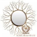 lustro w formie korzenia