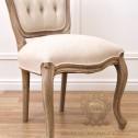 krzesło francuskie lniane pikowane black bear house.008