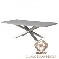 stół z betonowym blatem