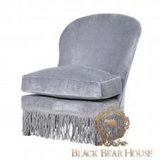 fotel tapicerowany welurem