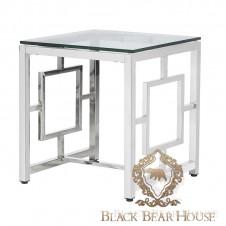 nowojorski stolik ze szklanym blatem
