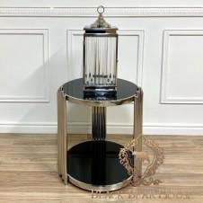 stolik ze stali nierdzewnej modern classic black bear house.002