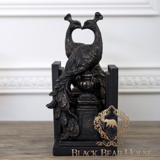Podpórki do książek w stylu nowojorskim black bear house