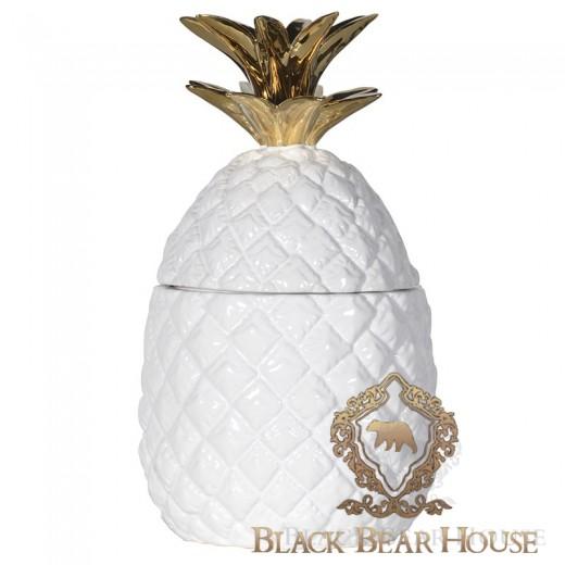 Pojemnik ananas w stylu nowojorskim black bear house