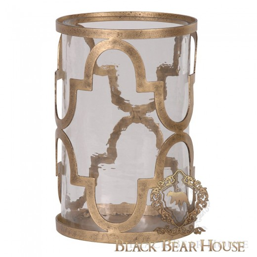 Świecznik w stylu nowojorskim black bear house