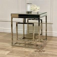 fotel i lustrzany stolik modern classic black bear house.003