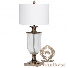 nowojorska szklana lampa stolikowa