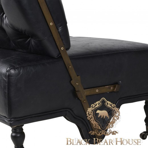 skórzana sofa black bear house