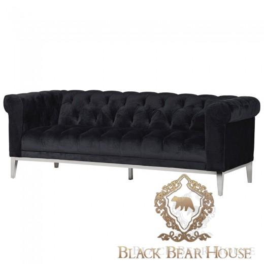 czarina sofa w stylu nowojorskim black bear house