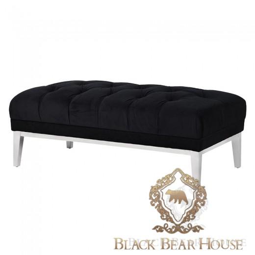 puff pikowana w stylu nowojorskim black bear house
