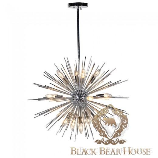 żyrandol sturbust w stylu nowojorskim black bear house