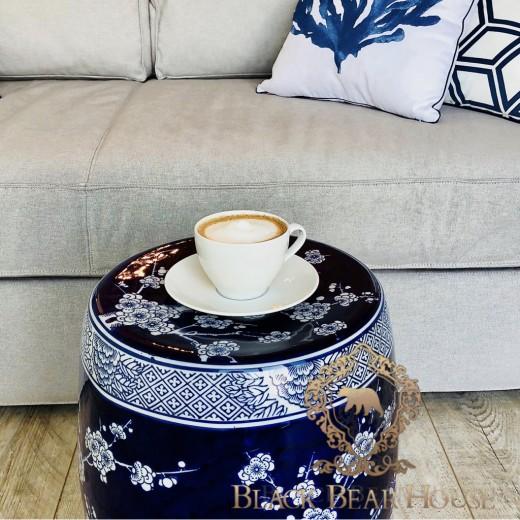stołek ceramiczny black bear house