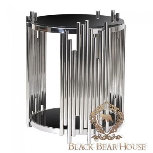 stolik z aluminium w stylu nowojorskim