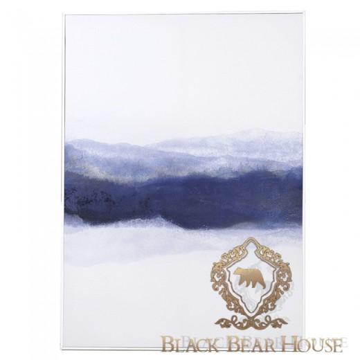 obraz w stylu coastal black bear house