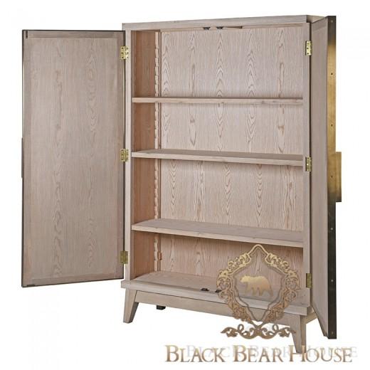 szafka w stylu modern classic ze złotem