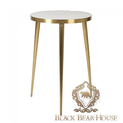 stolik modern classic złoto beton black bear house