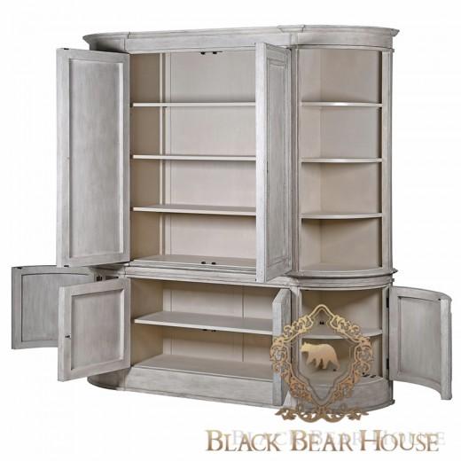 Meble francuskie black bear house w stylu gustawiańskim