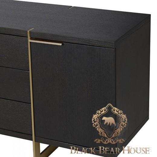 Komoda modern classic black bear house