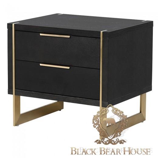 szafka w stylu modern classic black bear house