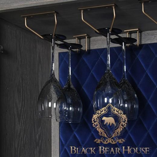 barek modern classic black bear house