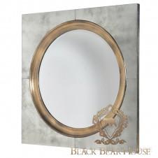 lustro dekoracyjne złote black bear house