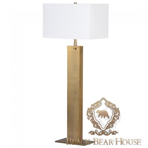 lampa złota art deco black bear house