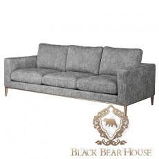 szara sofa modern classic black bear house