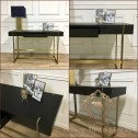 biurko w stylu modern classic black bear house