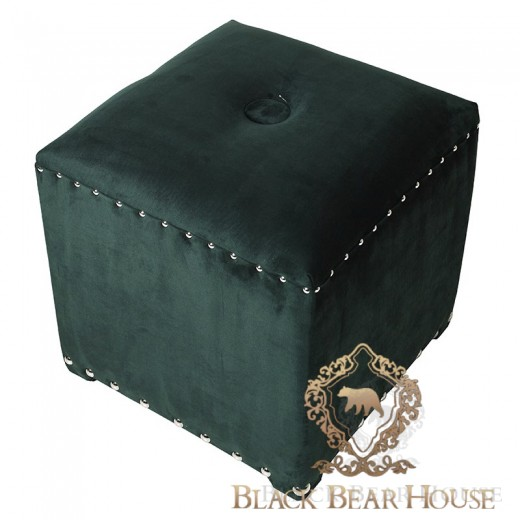 zielona pufa modern classic black bear house