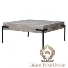 Nowoczesny stolik kawowy beton black bear house