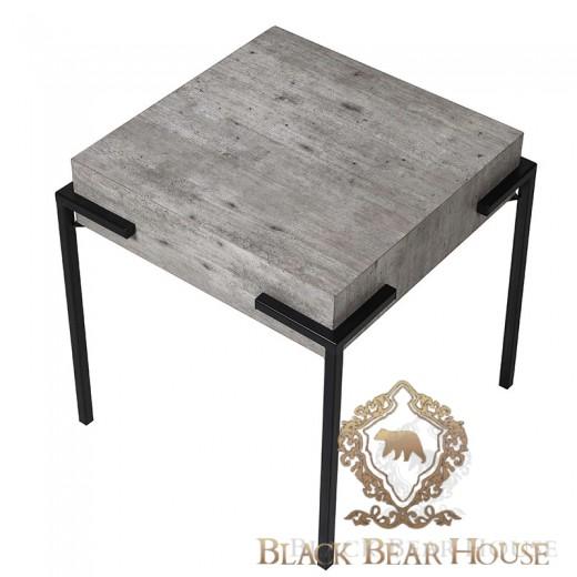 Nowoczesny stolik beton black bear house