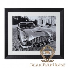 obraz aston martin black bear house