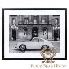 obraz aston martin black bear house