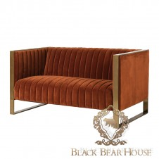 sofa modern classic art deco black bear house
