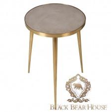 stolik modern classic beton złoto black bear house