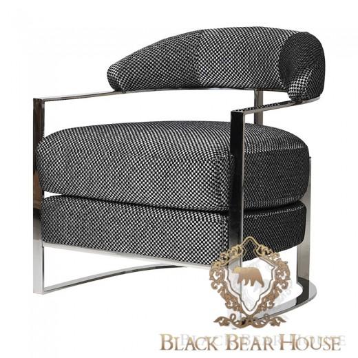 fotel w stylu amerykańskim black bear house