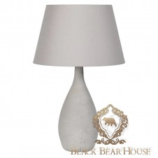 lampa beton black bear house
