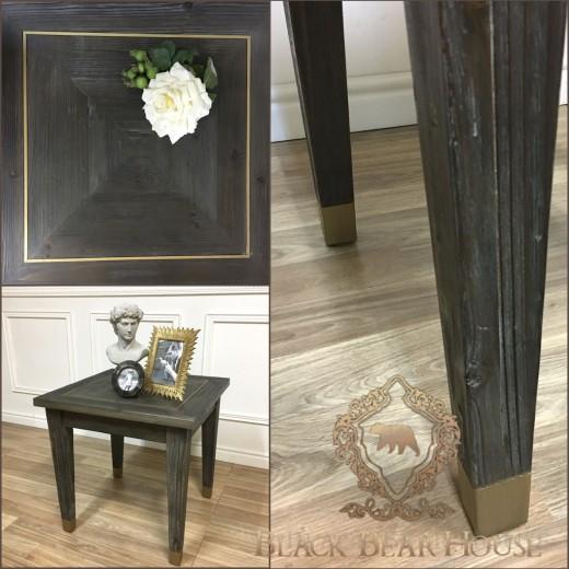 stolik w stylu amerykańskim black bear house