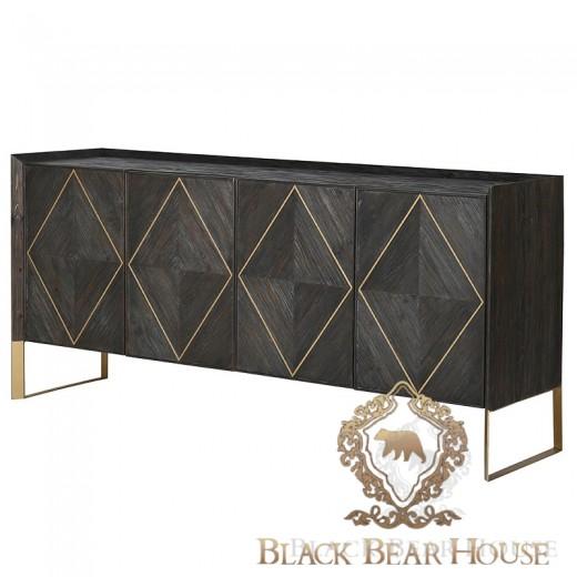 komoda w stylu amerykańskim black bear house